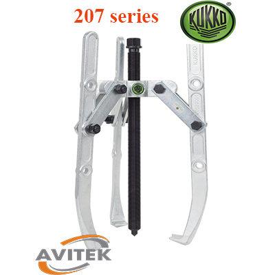 Cảo cơ khí kết hợp 2 và 3 chấu KUKKO 207 series
