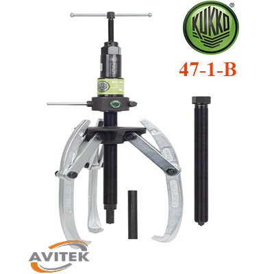 Cảo thủy lực kết hợp 2 và 3 chấu KUKKO 47-1-B độ mở 300mm