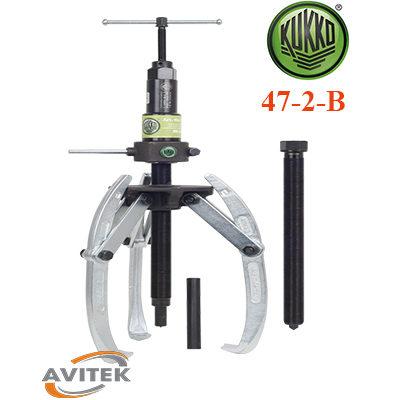 Cảo thủy lực kết hợp 2 và 3 chấu KUKKO 47-2-B độ mở 500mm