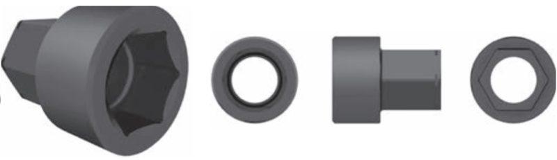 CỜ LÊ THỦY LỰC ĐẦU VÒNG PLARAD FSX (SX & HSX) - SX - EC 2 MS-H