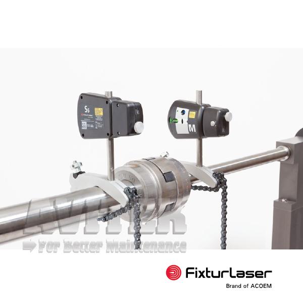Thiết bị cân tâm trục laser tích hợp điện thoại laser kit