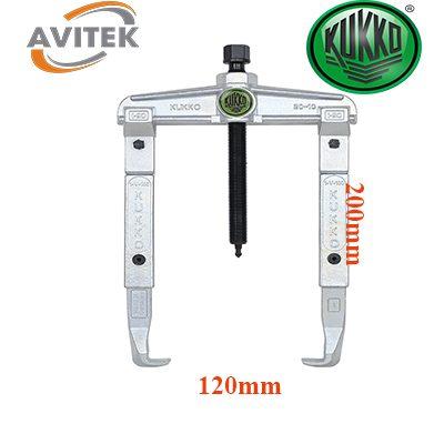Cảo hai chấu nối chân KUKKO 20-10-2 độ mở 120mm