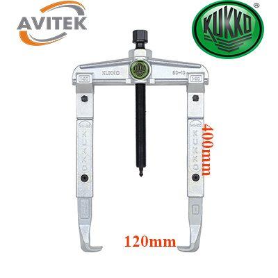 Cảo hai chấu nối chân KUKKO 20-10-4 độ mở 120mm