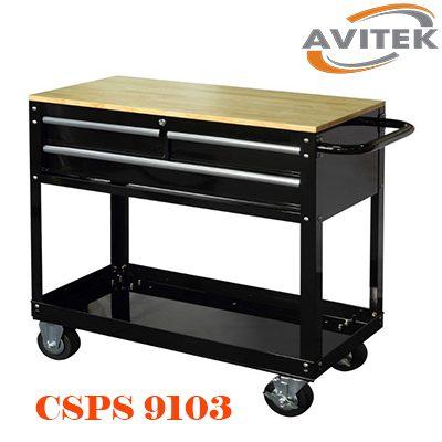 Xe đẩy dụng cụ ba ngăn kéo CSPS 9103