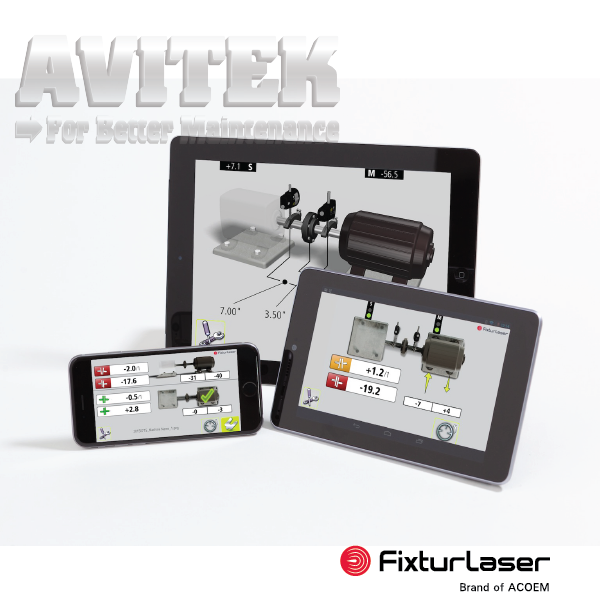 Máy cân chỉnh đồng tâm trục Fixturlaser Laser kit shaft alignment