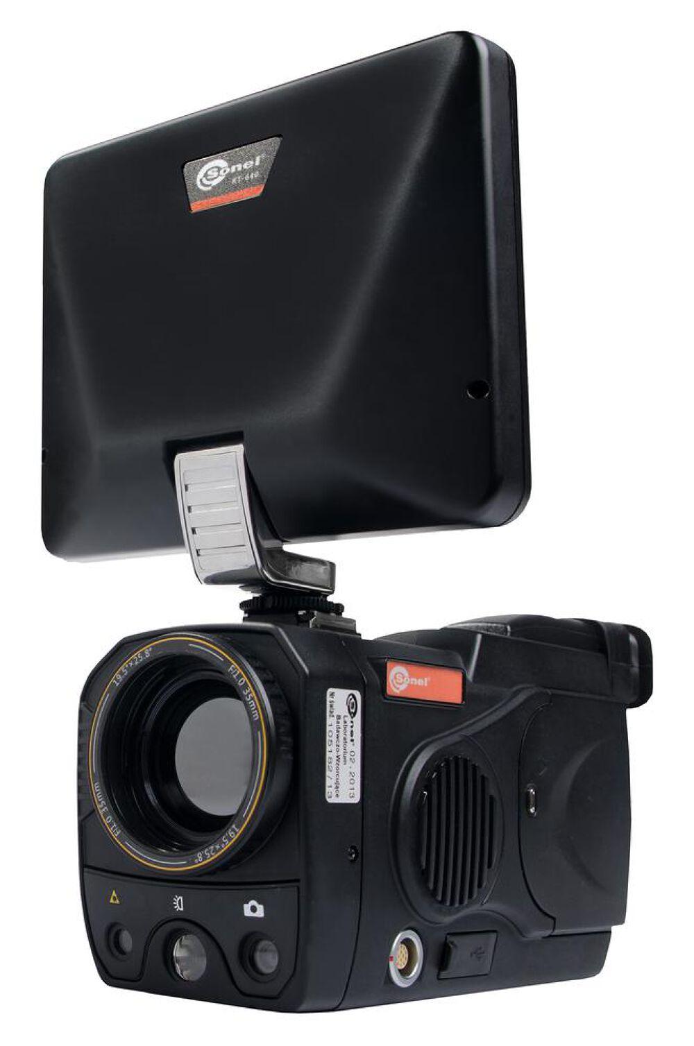 Máy ảnh nhiệt Sonel KT-640