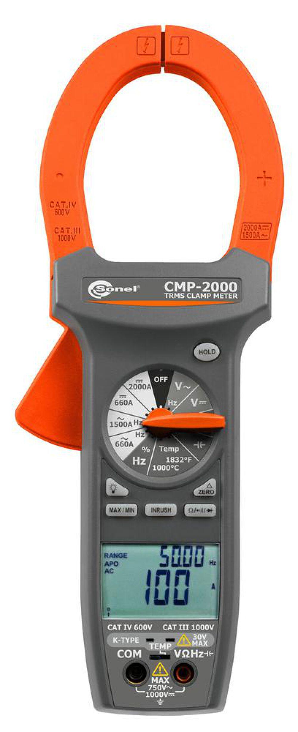 Đồng hồ kẹp kỹ thuật số Sonel CMP-2000