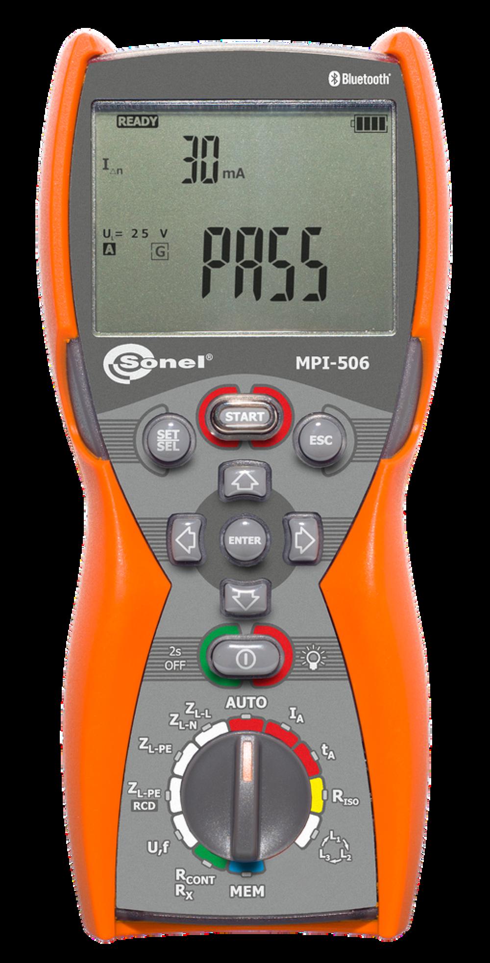 Đồng hồ đo đa năng các thông số lắp đặt điện Sonel MPI-506