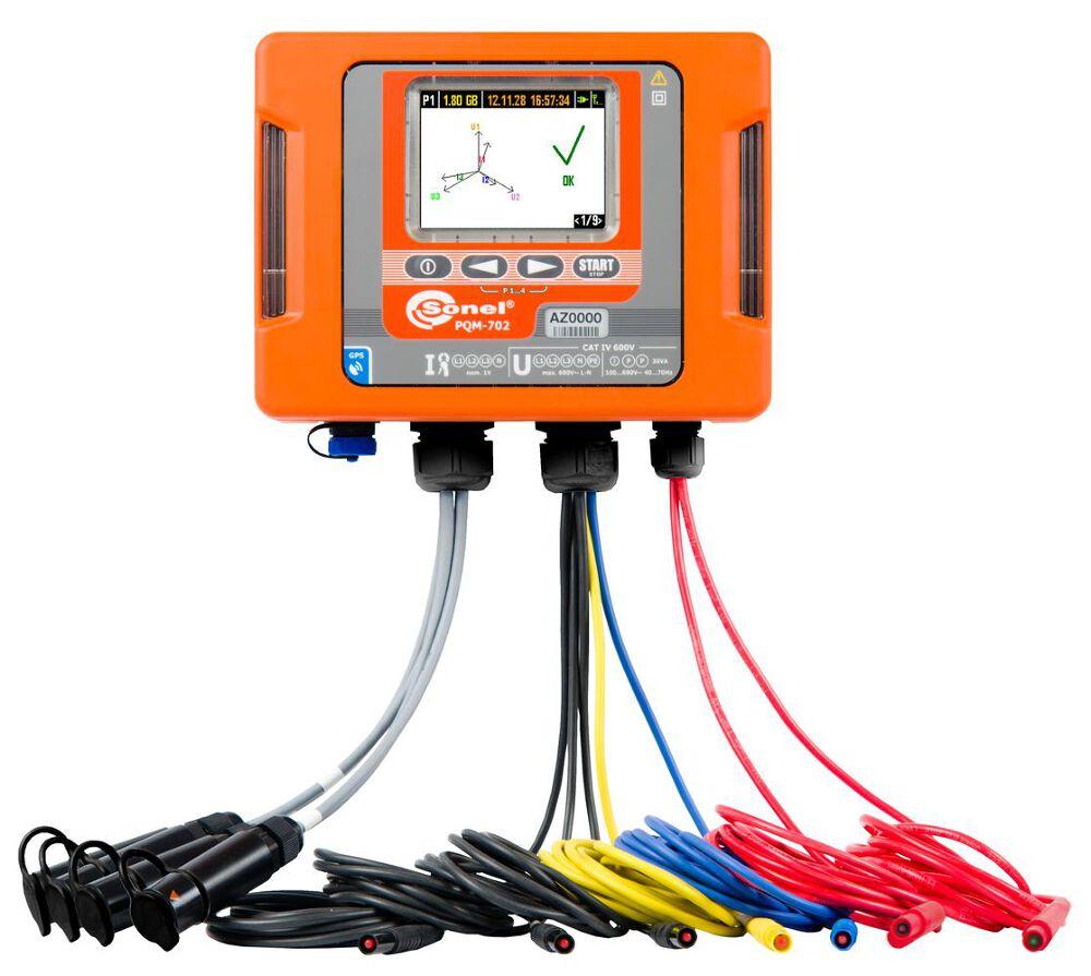 Máy phân tích chất lượng điện năng Sonel PQM-702