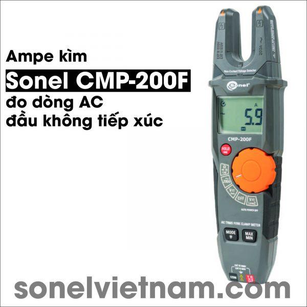 Ampe kìm đo dòng AC đầu không tiếp xúc Sonel CMP-200F 5-01