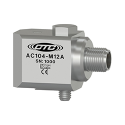Cảm biếng đo độ rung gia tốc AC104-M12A