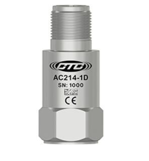 Cảm biến đo độ rung gia tốc tần số thấp CTC AC214 1000mV/g