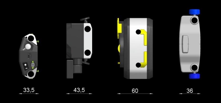 Khi thực hiện căn chỉnh trục chính xác, bất kể dụng cụ đo nào đang được sử dụng, kích thước vẫn quan trọng. Nhiều máy ghép nối có các vật cản xung quanh khớp nối, chẳng hạn như bộ truyền, đường dầu hoặc đường làm mát, kẹp ống dẫn và nhiều bộ phận khác có thể khiến việc căn chỉnh trục laser chính xác trở nên khó khăn.