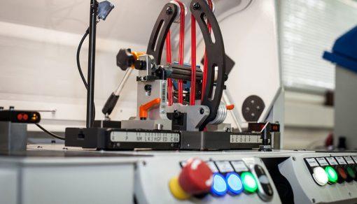 Máy cân bằng động rotor điện