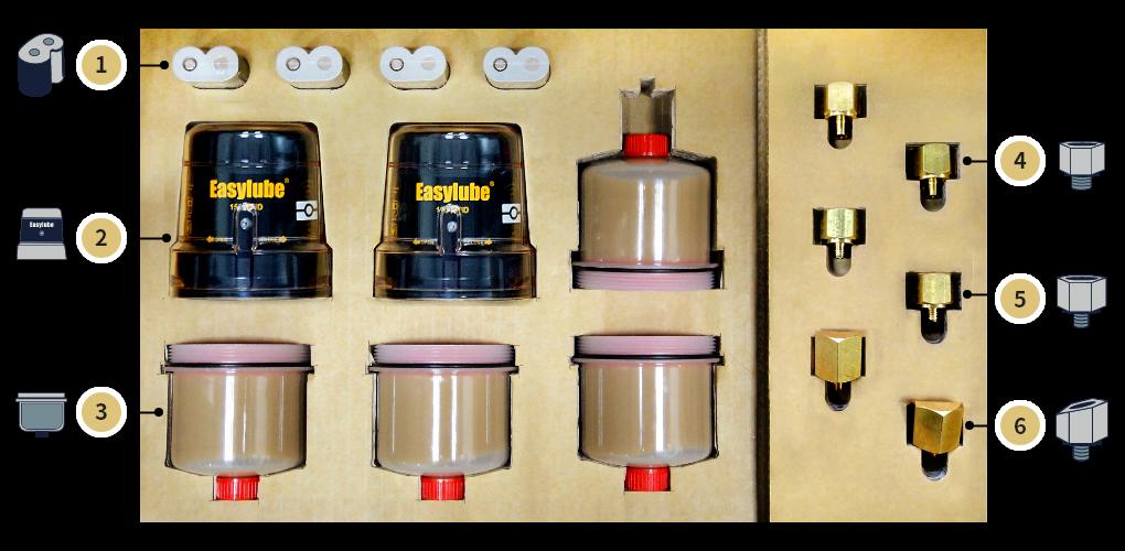 Bộ bôi trơn tự động cho máy trộn (mixer) ER-60R-2000