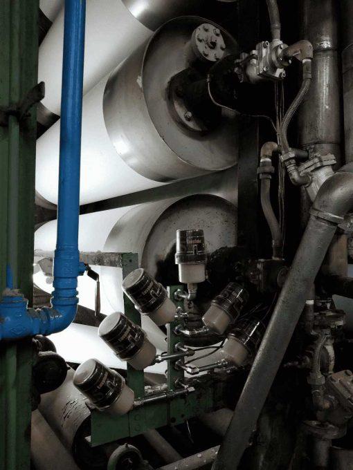 Bộ bôi trơn tự động cho con lăn (roller) ER-60E-1500