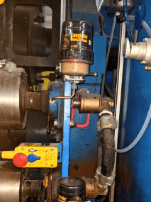 Bộ bôi trơn tự động cho con lăn (roller) ER-250E-1000