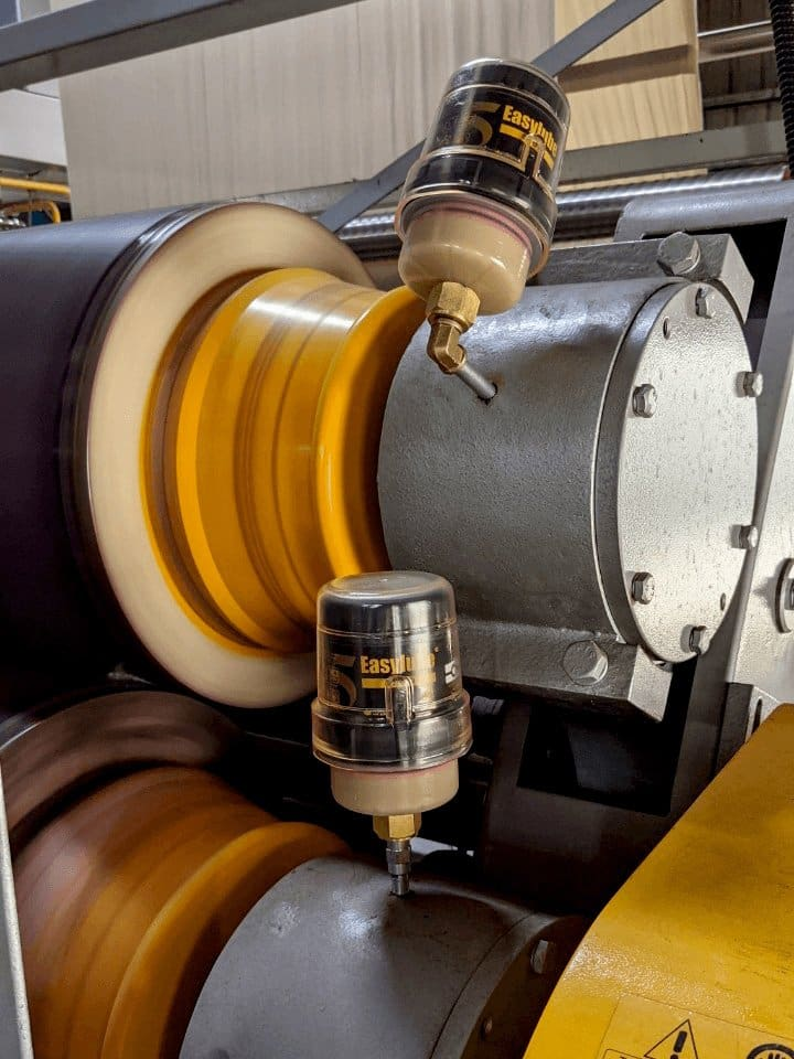 Bộ bôi trơn tự động cho con lăn (roller) ER-250R-1000