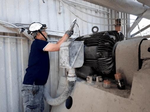 Bộ bôi trơn tự động cho máy hút bụi ER-150C-1500