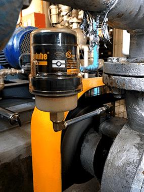 Bộ bôi trơn tự động cho máy thổi khí (Roots blower) ER-60E-1000