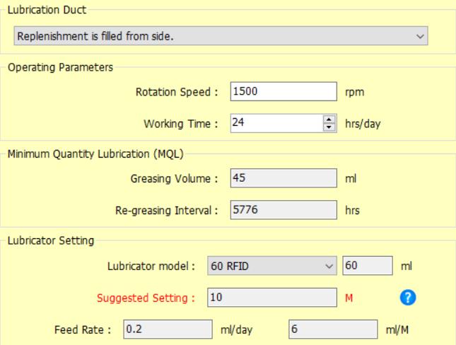 Phần mềm tính toán bôi trơn Easylube MQL